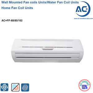 wall mounted fan coil units Units water chilled fan coil units