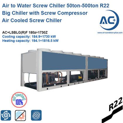 air to water screw heat pump