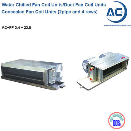 Ultra Thin Fan Coil Units (2 pipe and 4 rows) water chilled