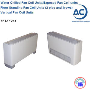 Floor Standing Fan Coil Units (2 Pipe And 4 Rows)  European Fan Coil Units