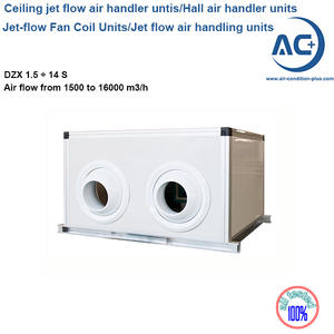 jet flow air handler units ceiling air handling units