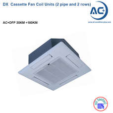 DX  Cassette Fan Coil Unit (2 pipe and 2 rows) chiiled water fan coil units