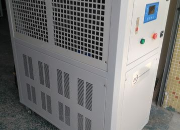 Industrial air cooled water chiller cooling for hospital CT machine