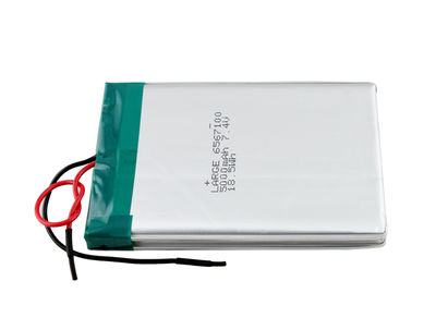 PL6567100 7.4V 5000mAh Polymer Lithium Battery(2S2P)for Medical Device