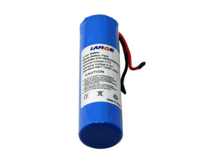 Cylindrical 18650 3.7V 2200mAh Lithium Ion Battery With Wire