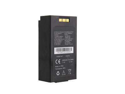 18650 7.4V 2600mAh Lithium Rechargeable Battery Pack