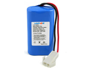 18650 7.4V 2200mAh Lithium Ion Battery For Handheld Device