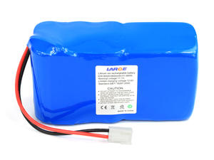 18500 11.1V 2800mAh Li ion Battery Pack for Car Security System