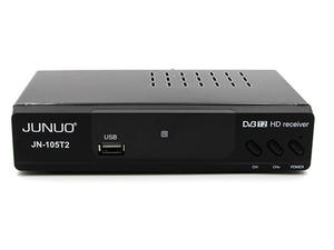 Junuo Dvbt2 Supplier Dvb T2 Digital Tv Receiver With RCA,HDMI,Coaxial Output