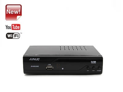 JUNUO mpeg4 timeshift hd dvb t2 receptor digital terrestre