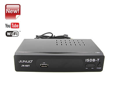 Wholesale Junuo Factory  Hd Isdb-t Digital Receiver Fta Set Top Box