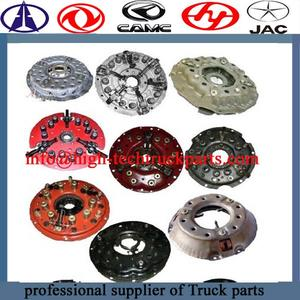 Truck Clutch Disc for  Beiben,Shacman,CAMC, Hongyan, Dongfeng