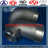 Weichai engine connecting pipe is to connect parts in turbocharger