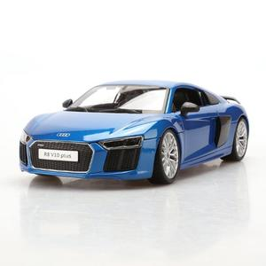 Exquisite Audi R8 V10 Plus Alloy Car Model 1:18 Simulation Original Car Model