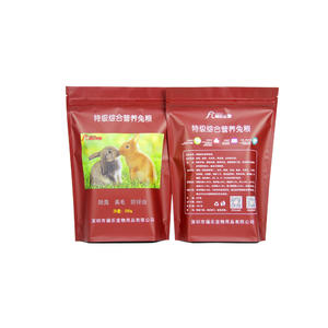 rabbit food packaging, bunny food packaging bag factory, pet food bag
