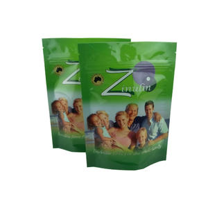 Plastic Reusable Food Packaging Bag