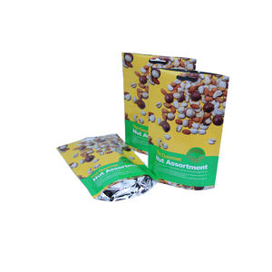 Gourmet Nut Packaging Stand Up Foil Pouches