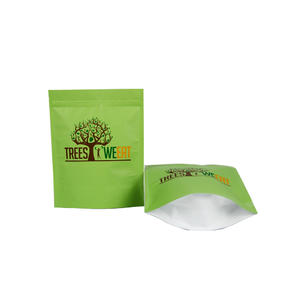 Custom Printed Foil Stand Up Packaging Bag