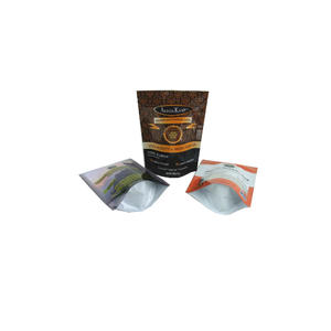 FDA Coffee Packaging Resealable Stand Up Pouches