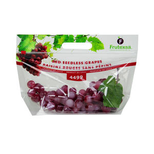 Chile Red Seedless Slider Grape Pouches