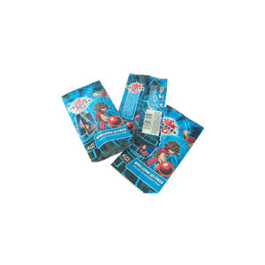 Bakugan ID-Tags Packaging Aluminum Foil Sachet