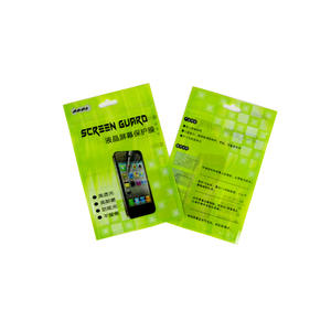 LCD Screen Protector Packaging Reusable Zip Lock Bags