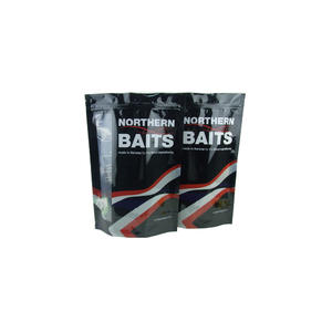 Customized Stand Up Ziplock Soft Plastic Bait Bags
