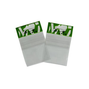 Plastic Fishhook Bag With Adhesive Tape