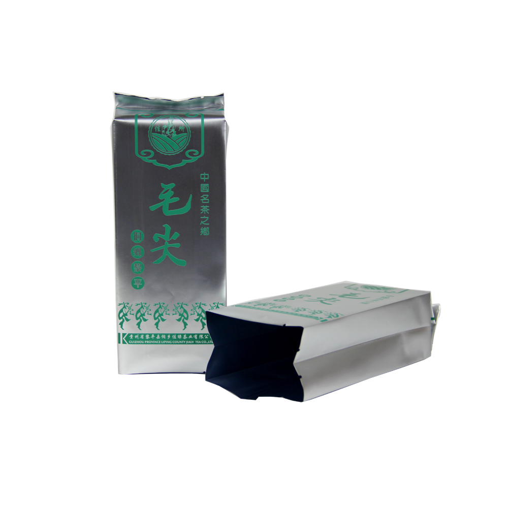 Mylar Foil Side Gusset Tea Packaging Bag