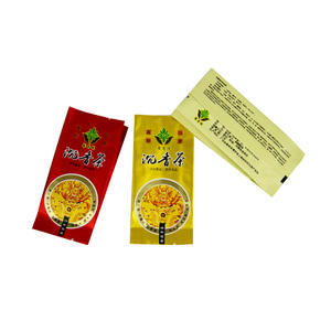 Tea Bag , Side Gusset tea packaging bag Factory