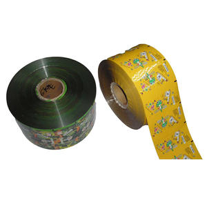 Printed Automatically Packaging Plastic Foil Roll Stock Film