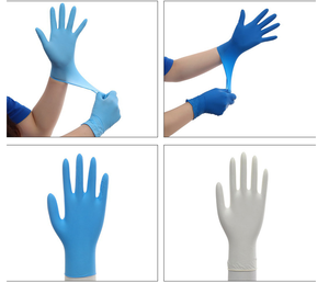 Disposable Medical Glove  Latex / Nitrile/ Vinyl examination Glovess