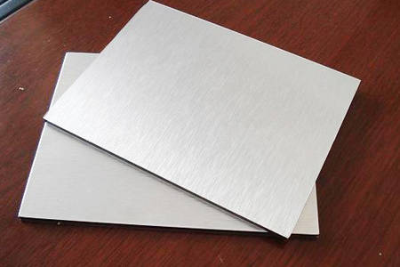 brushed aluminum composite panel