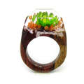 wood ring secret wood ring for women