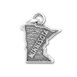 Fashion Engraved letter custom logo charm,custom state map charms (state charms)
