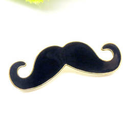 Fashion pins factory gold plated enamel brooch pins (wholesale enamel pins)