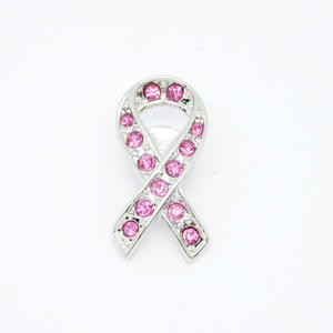 Wholesale Fashion jewelry wholesaler, Pink crystal ribbon pin brooch exporters