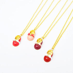 china Baby shoe pendant necklace exporters