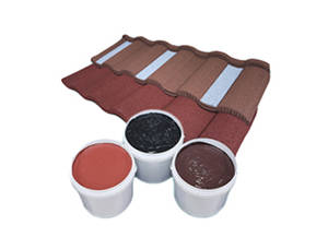 China Waterbased Acrylic Adhesive for Stone Coated Metal Roof Tile supplier