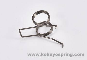 ¢1.0 double torsional spring