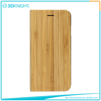 Quality Shock Proof Case For Iphone, Flip Wooden Phone Case