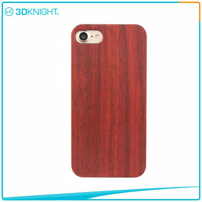 Customized Laser Engraving Rosewood Phone Case For Iphone 7 7 Plus Cases