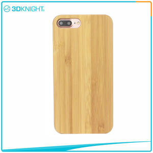 Customized Laser Engraving For Iphone 7 Plus Bamboo Phone Case