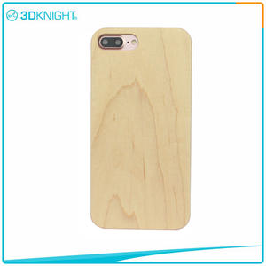 Handmade Wood Phone Case For Iphone 7 Plus Real Maple Design