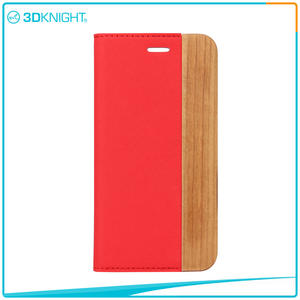 Wholesale Flip Wood iPhone 7 Case manufacturers