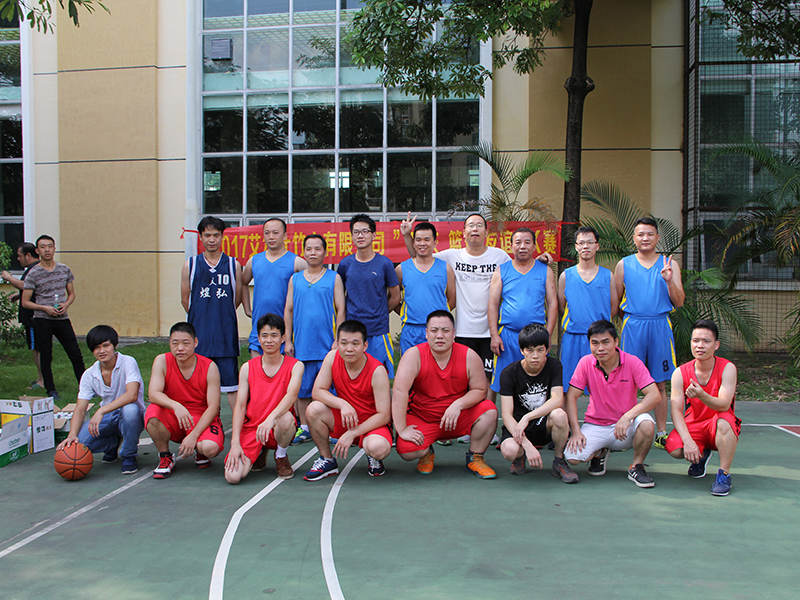Basketball Match for 3DKNIGHT Team  2