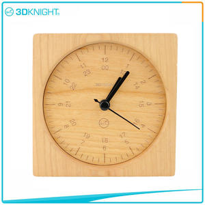Wholesale Wood Clocks factory Desklop Clocks