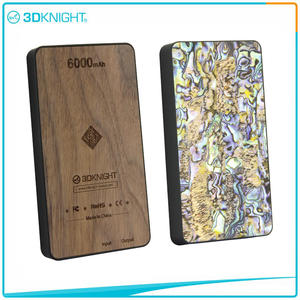 Wood Power Bank 6000mah Wooden Protable Charger