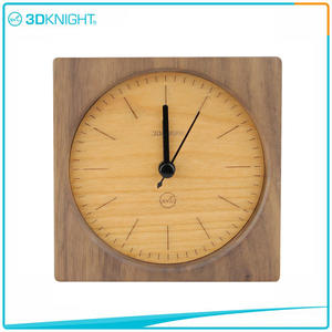 Handmade Wooden Clock Wood Desklop Clocks