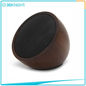 Wood Speaker Wooden Wireless Speaker Mini Wood Speaker Portable